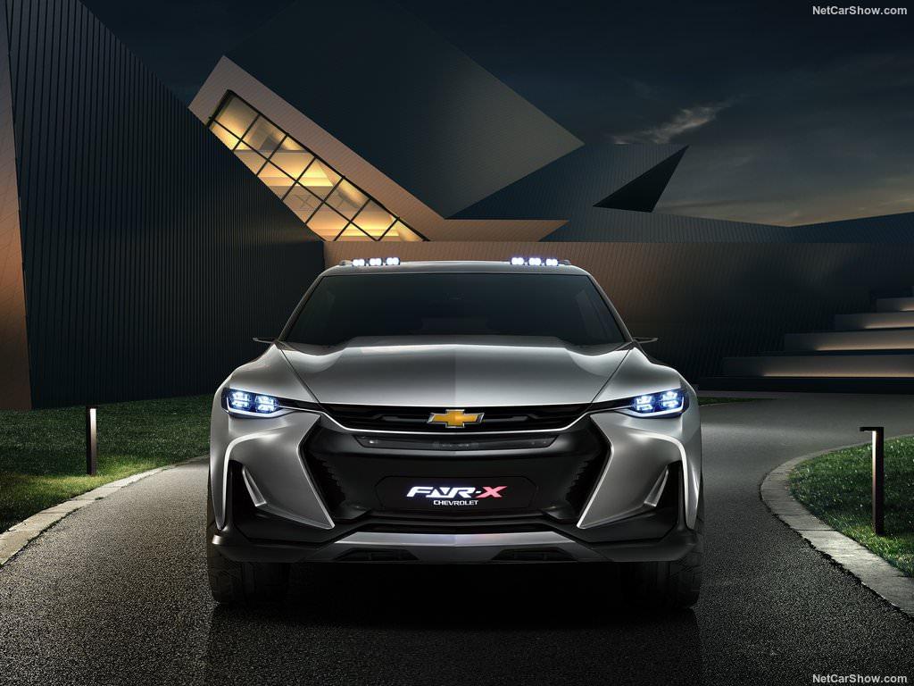 Chevrolet FNR-X 2017 calandre