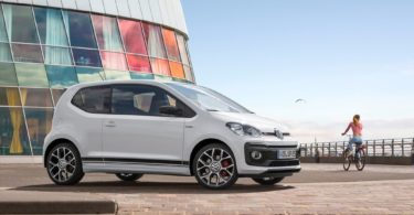Volkswagen up ! GTI de profile