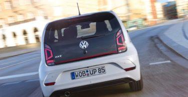 Volkswagen up ! GTI vue arrière