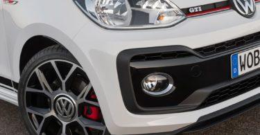 Volkswagen up ! GTI optiques et pneu