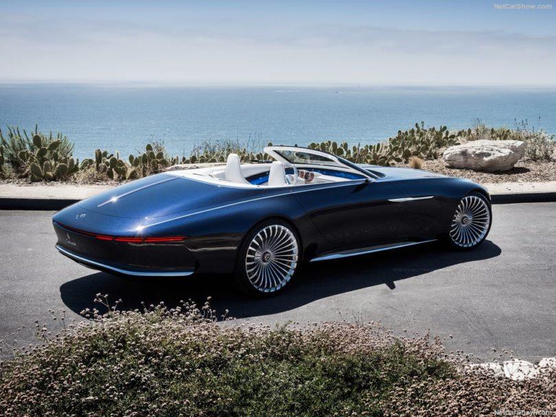 Mercedes-Benz Maybach Vision 6 Cabriolet Concept 2017