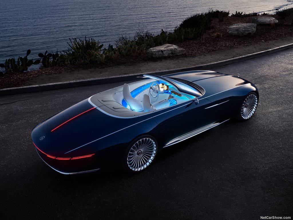 Mercedes Benz Maybach Vision 6 Cabriolet Concept 2017