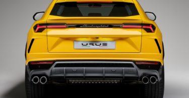Lamborghini Urus arrière