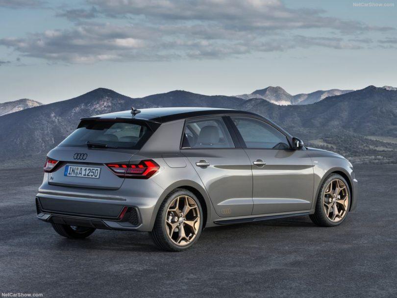 Audi A1 2019 vue arrière