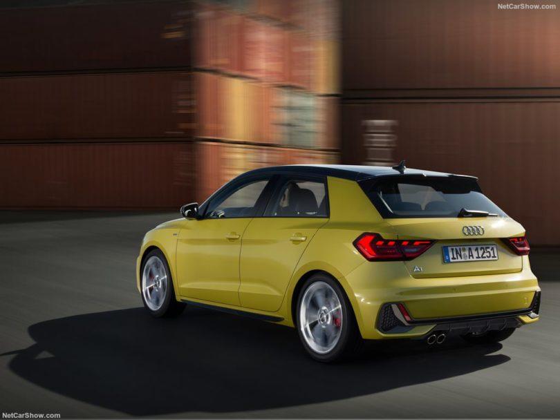 Audi A1 2019 3/4 arrière