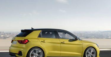 Audi A1 2019 de profile