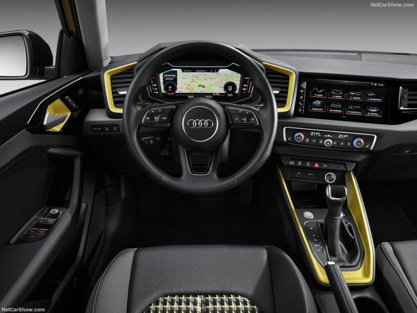 Audi A1 2019 au volant