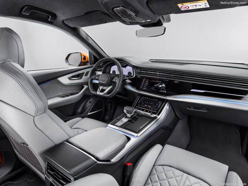 Audi Q8 2019 interieur