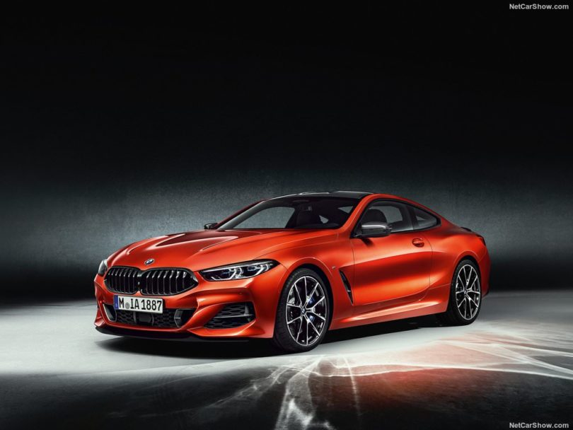BMW Série 8 2019 orange M8