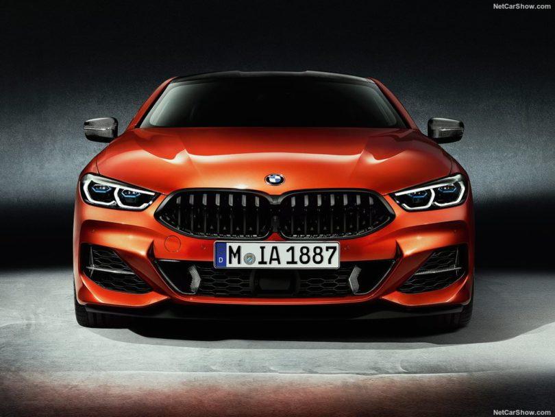 BMW Série 8 2019 M8 face avant