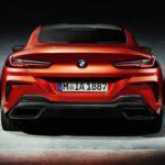 BMW Série 8 2019 M8 arrière