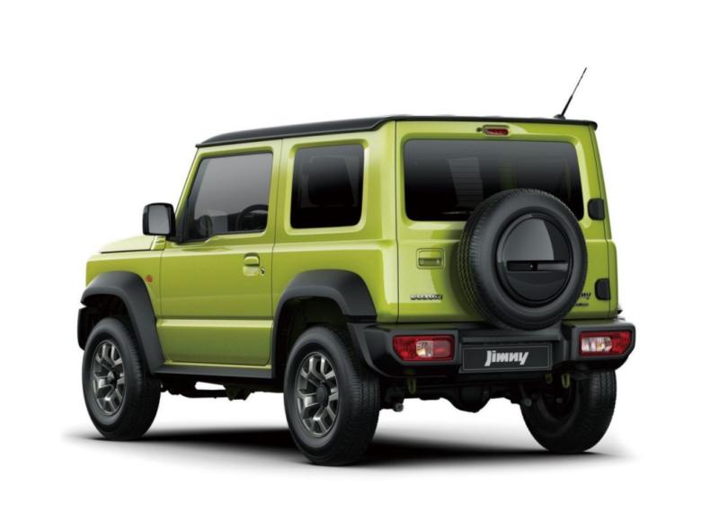 Suzuki Jimny 2019 Vert face arrière