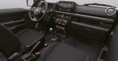 Suzuki-Jimny-2019 coté passager