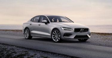 Volvo S60 2019 gris avant