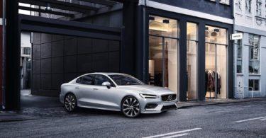 Volvo S60 2019 blanc