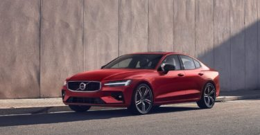 Volvo S60 2019 rouge face avant