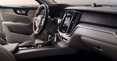 Volvo S60 2019 console centrale