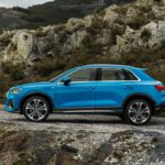 Audi Q3 2019 bleu