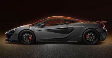 McLaren 600 LT de profile