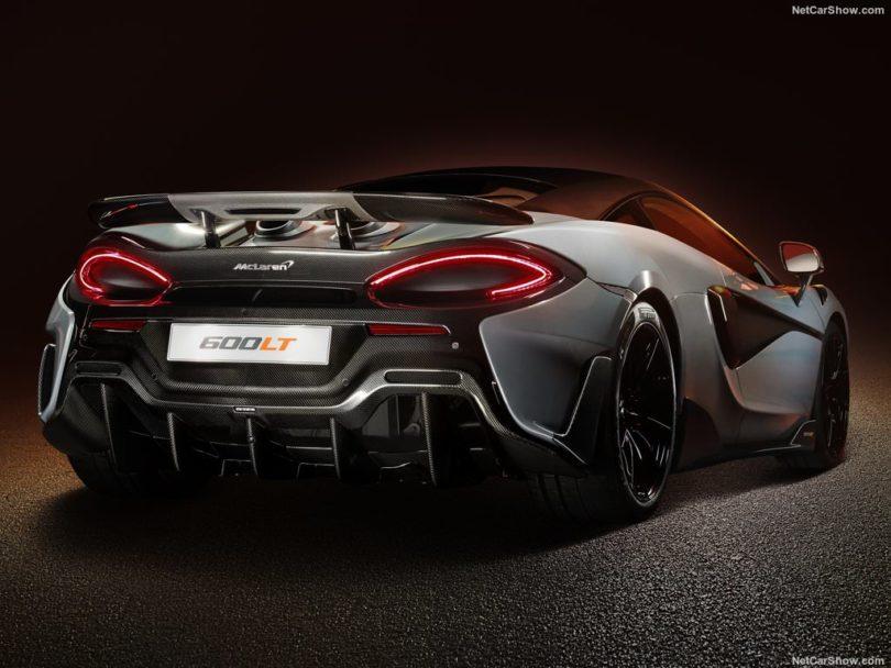 McLaren 600 LT 3/4 arrière