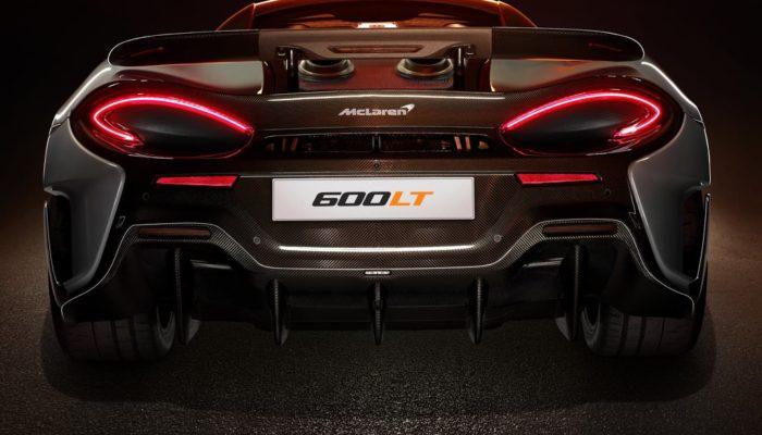 McLaren 600 LT feux arrières