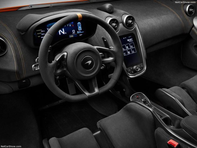 McLaren 600 LT siège