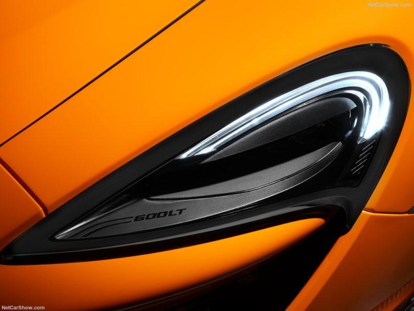 McLaren 600 LT feux