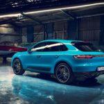 Porsche Macan 2019 bleu