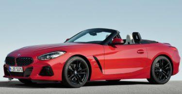 BMW Z4 2019 rouge vif