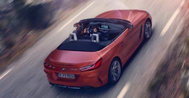 BMW Z4 2019 du dessus