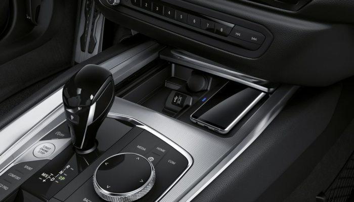 BMW Z4 2019 boite de vitesses