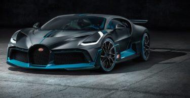 Bugatti Divo 2019 avant