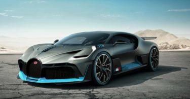 Bugatti Divo 2019 calandre