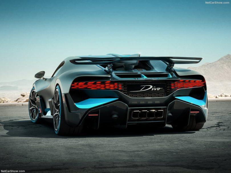 Bugatti Divo 2019 arrière