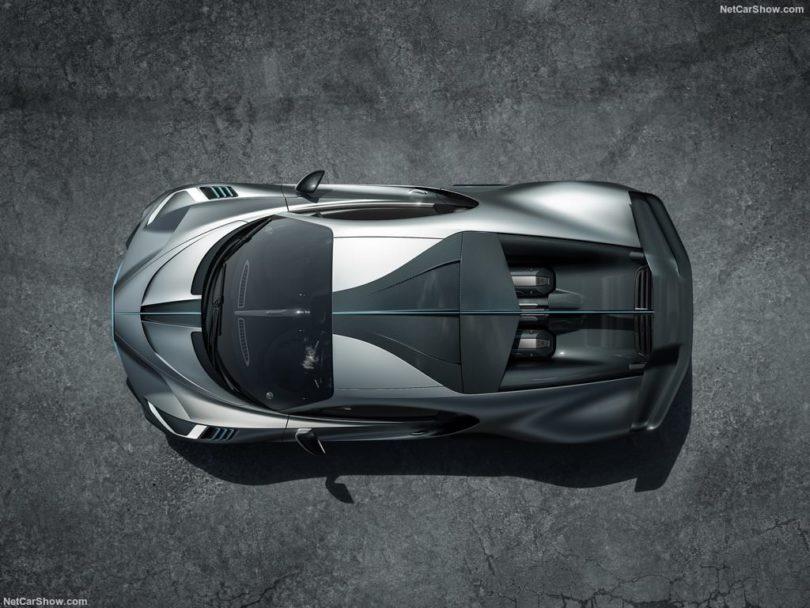 Bugatti Divo 2019 toit