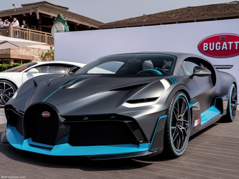 Bugatti Divo 2019 face avant