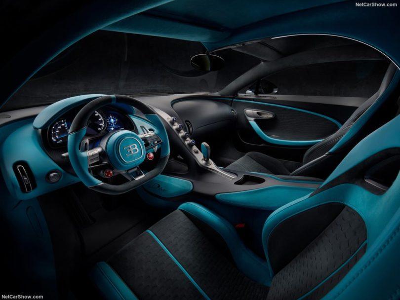 Bugatti Divo 2019 intérieur