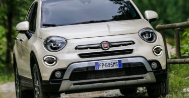 Fiat 500X 2019 face