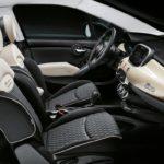 Fiat 500X 2019 places avant