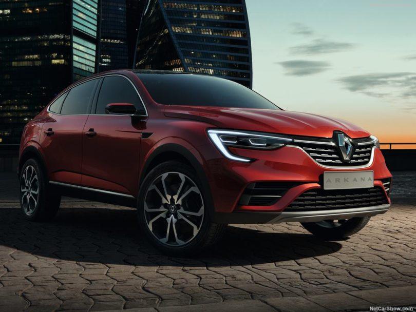 Renault Arkana Concept face avant
