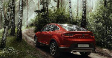 Renault Arkana Concept vue arrière