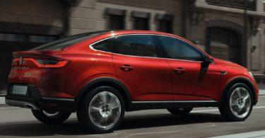 Renault Arkana Concept de profile