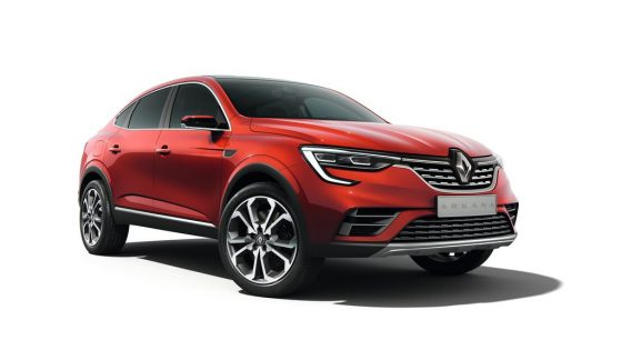 Renault Arkana Concept rouge vue avant