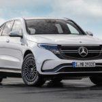 Mercedes EQC 2019 face calandre