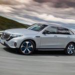 Mercedes EQC 2019 de côté