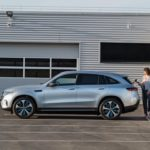 Mercedes EQC 2019 de profile
