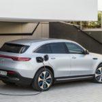 Mercedes EQC 2019 avec la prise