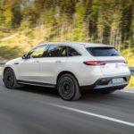 Mercedes EQC 2019 3/4 arrière