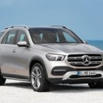 Mercedes GLE 2019 3/4 avant calandre