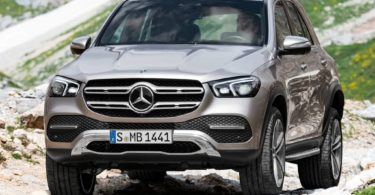 Mercedes GLE 2019 photo officielle